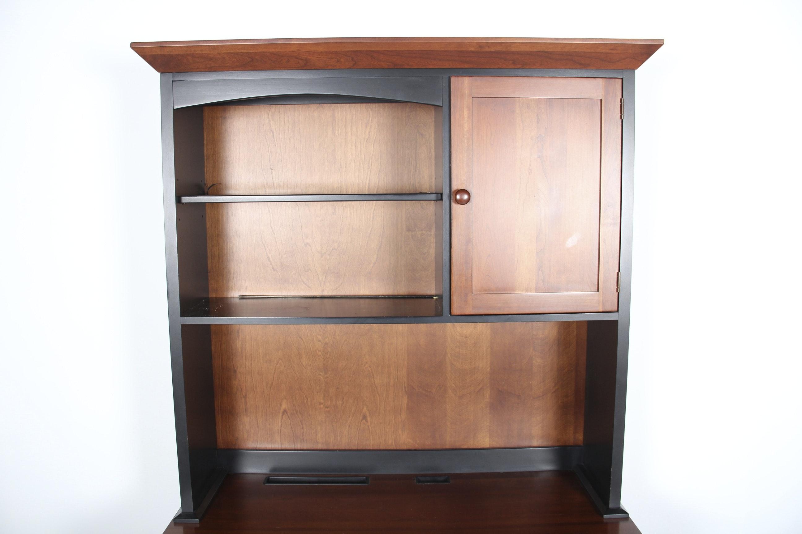 Ethan Allen American Impressions Desk And Hutch Bookcase