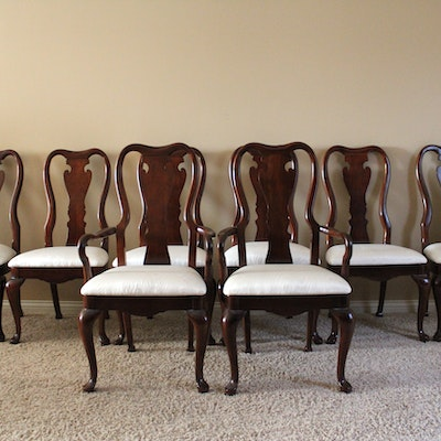 Queen Anne Dining Room Chairs By Thomasville
