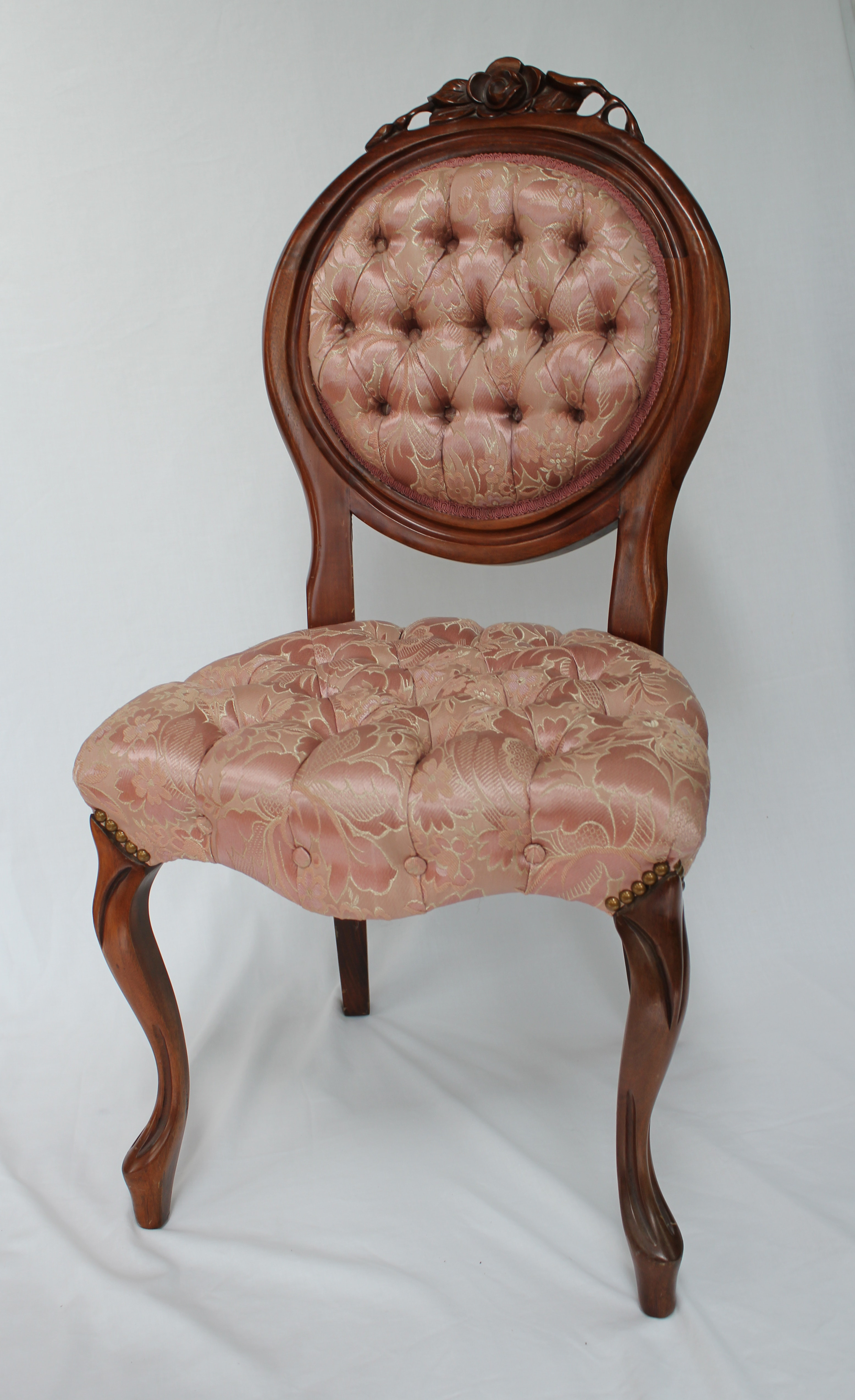 antique carlton mclendon victorian slipper chairs - Slipper Chairs