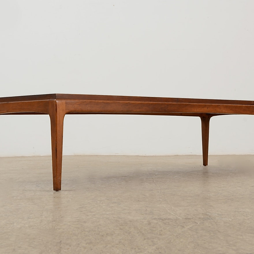 Lane Sliding Door Coffee Table: 1964 Lane Furniture Coffee Table : EBTH