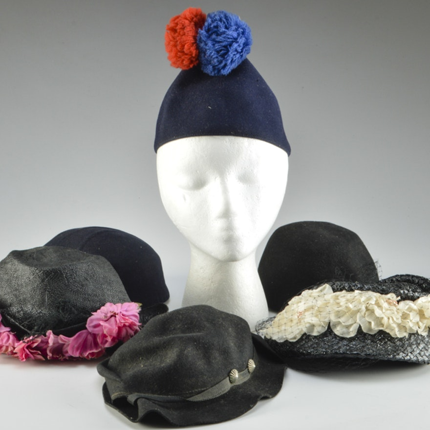 5ce973c40b2 Collection of Women s Vintage Hats   EBTH