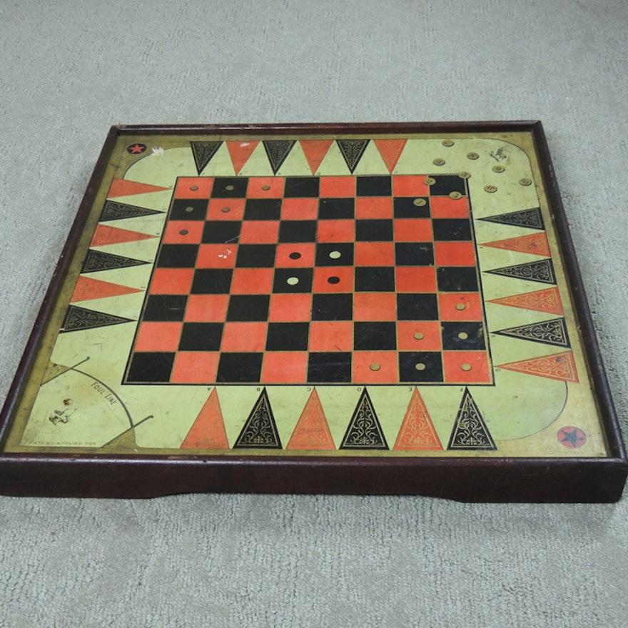 Antique McLaughlin Bros. Game Board