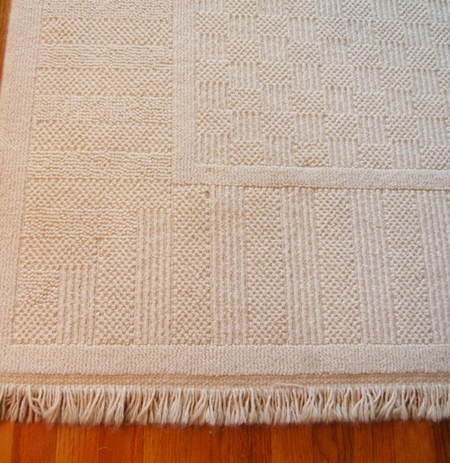 Pair Of Karastan Wool Blend Area Rugs : EBTH