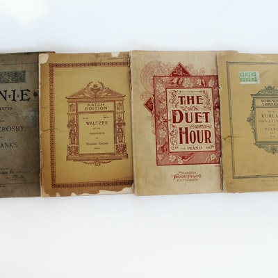 Vintage Sheet Music for Sale | Used Sheet Music Books | EBTH
