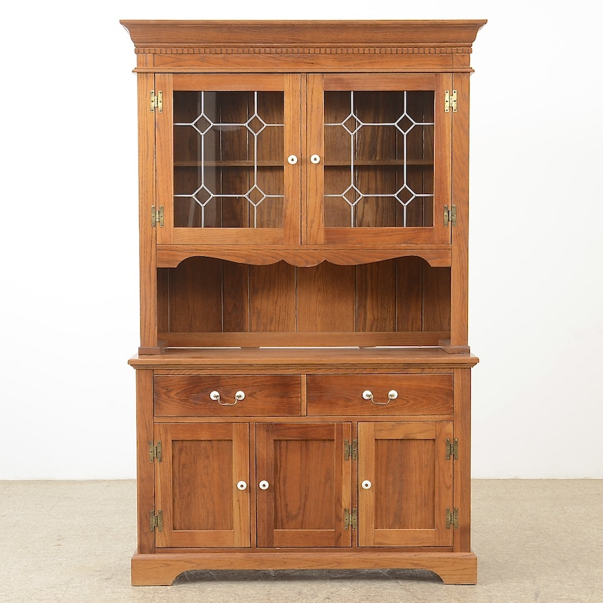Country Style China Hutch