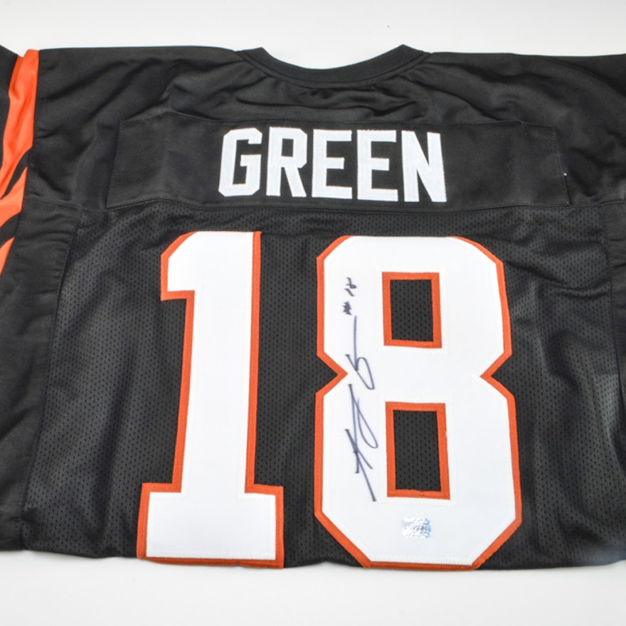 size 40 aa98e 16526 A. J. Green Signed Jersey