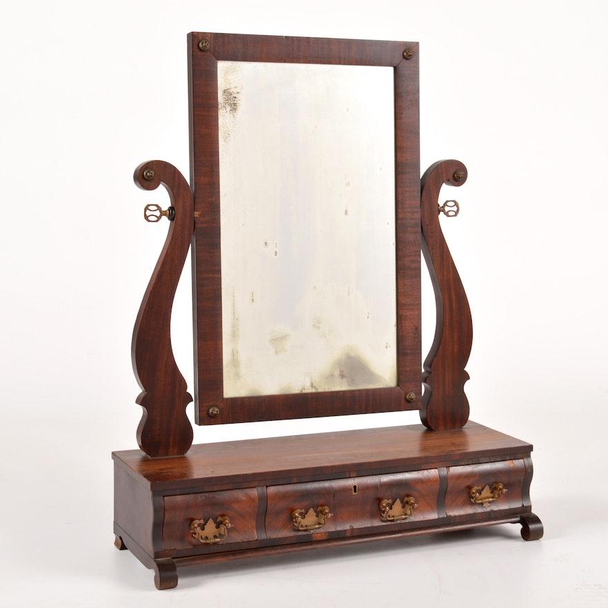 Dresser Top Vanity Mirror With Drawers Ebth