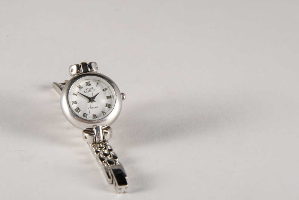 Anne Klein Ii Sterling Silver Ladies Wrist Watch Ebth