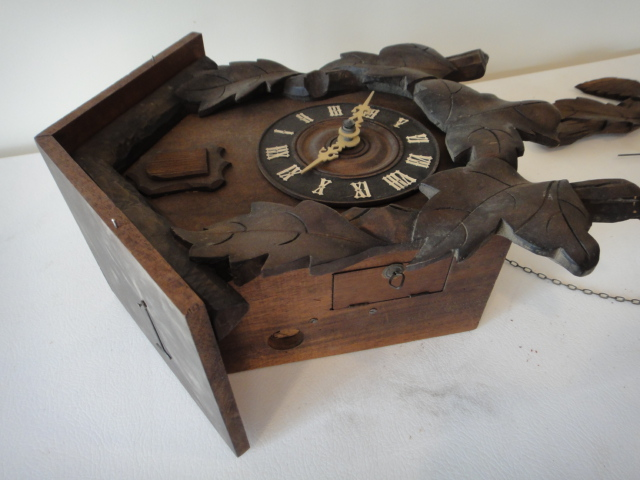 Antique Black Forest German Cuckoo Clock L A Breitinger : EBTH