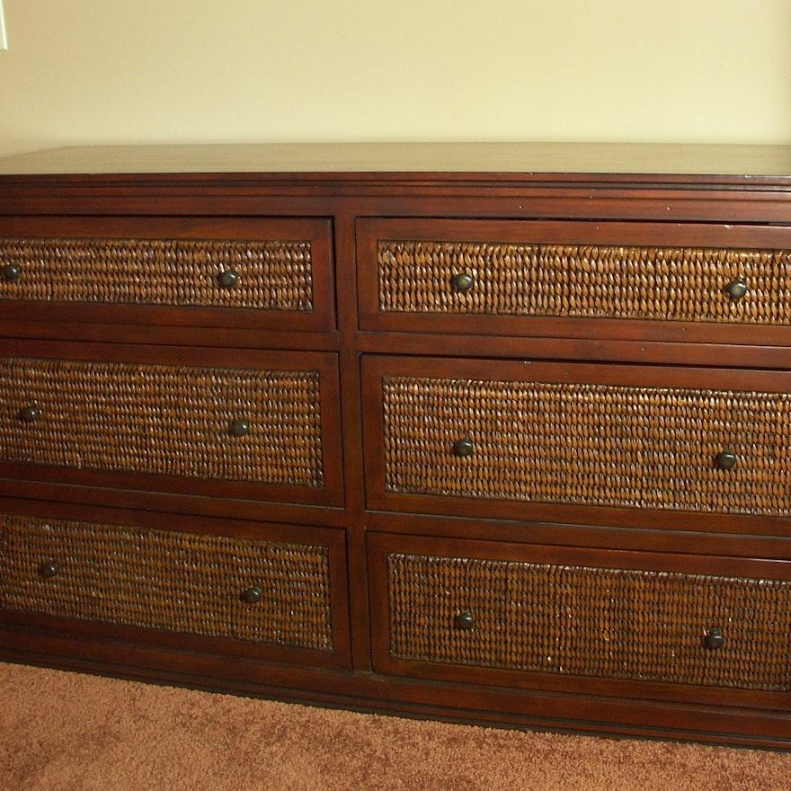 bedroom dresser one rattan furniture pier cabinet wicker