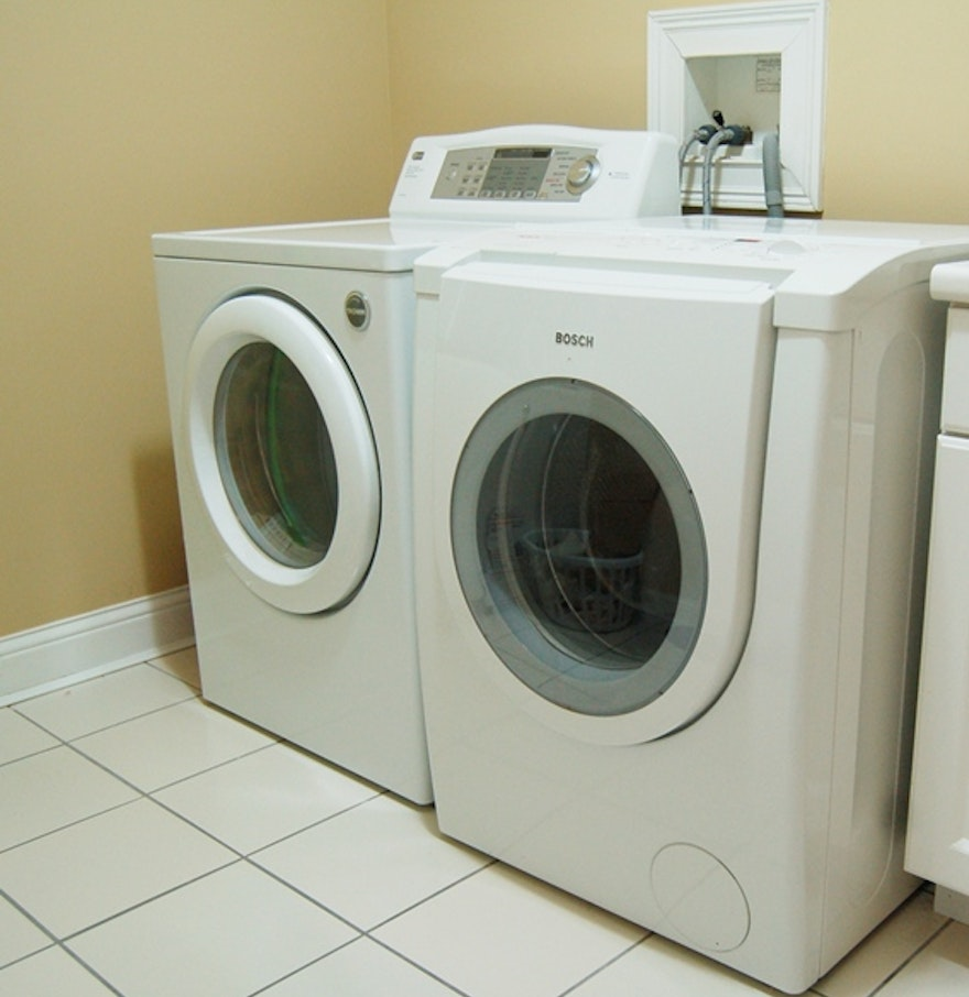 High Efficiency Washers And Dryers Bosch Nexxt High Efficiency Washer And Lg Electronic Dryer Ebth
