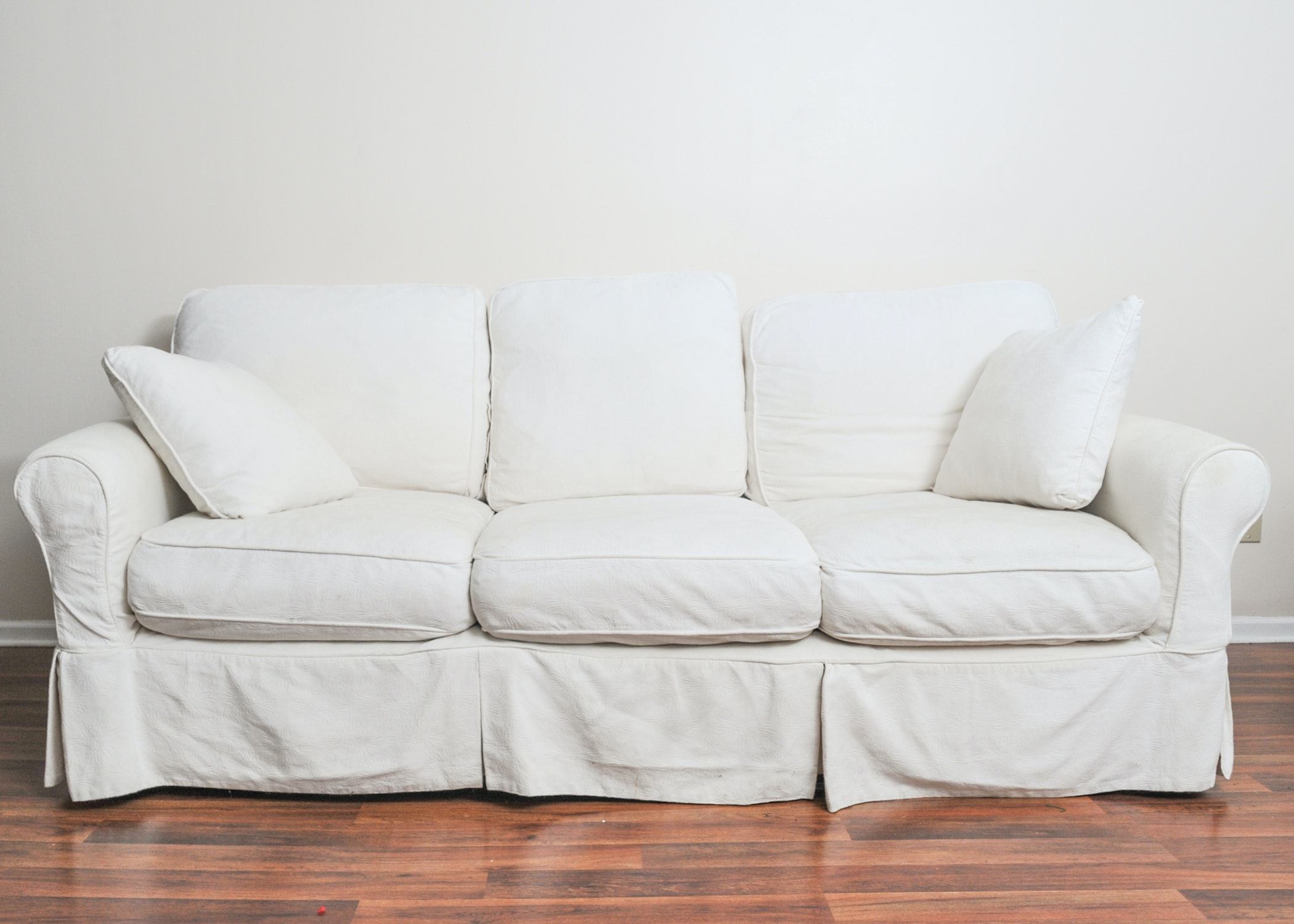 Arhaus Couch With Camden Collection Slipcovers ...