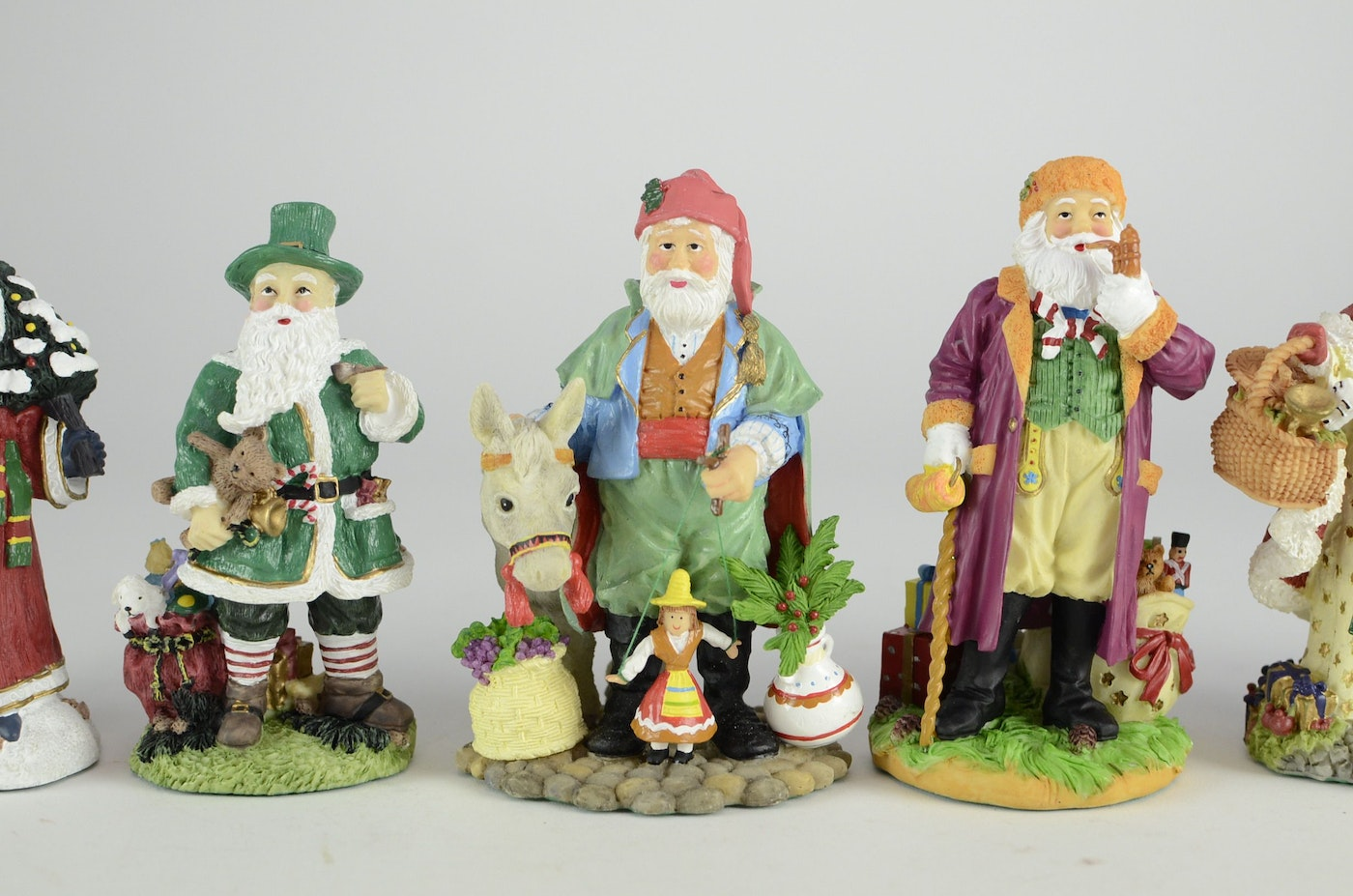The international santa claus collection figurines ebth
