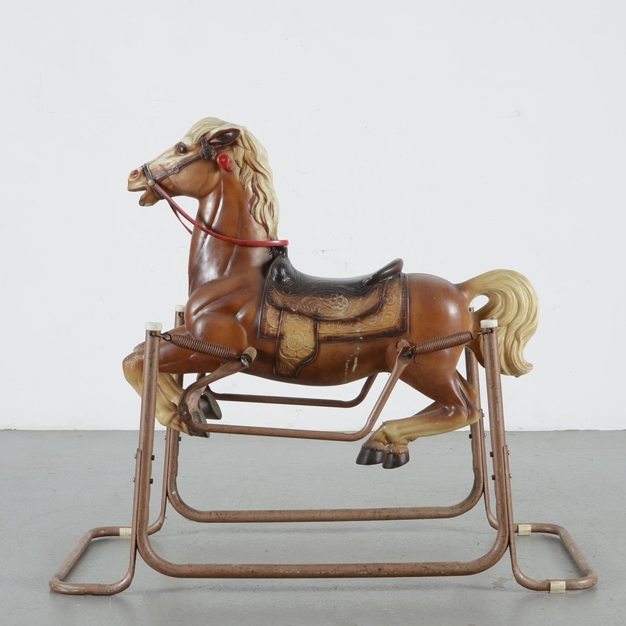 Antique Spring Horse Best 2000 Antique Decor Ideas