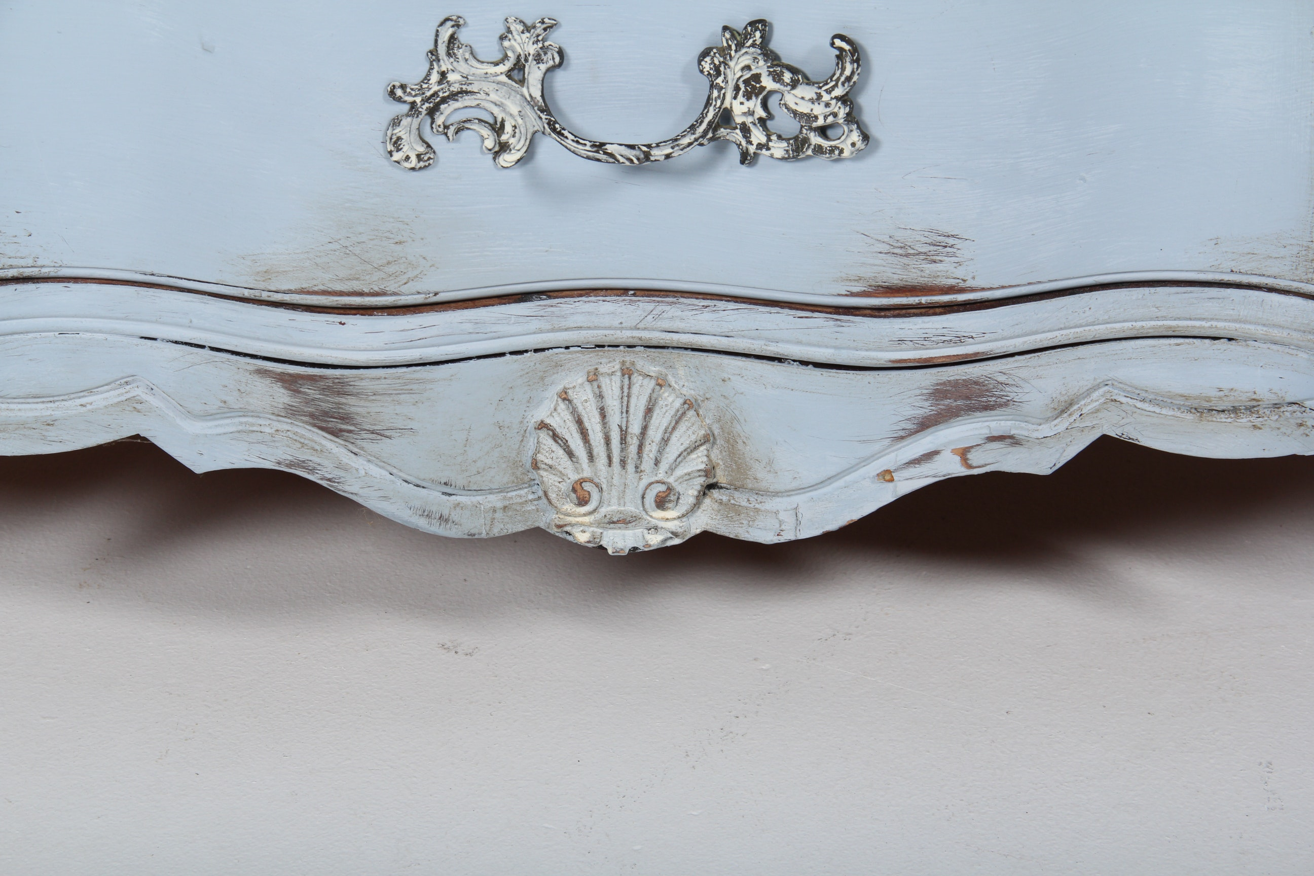 Vintage French Provincial Buffet Ebth