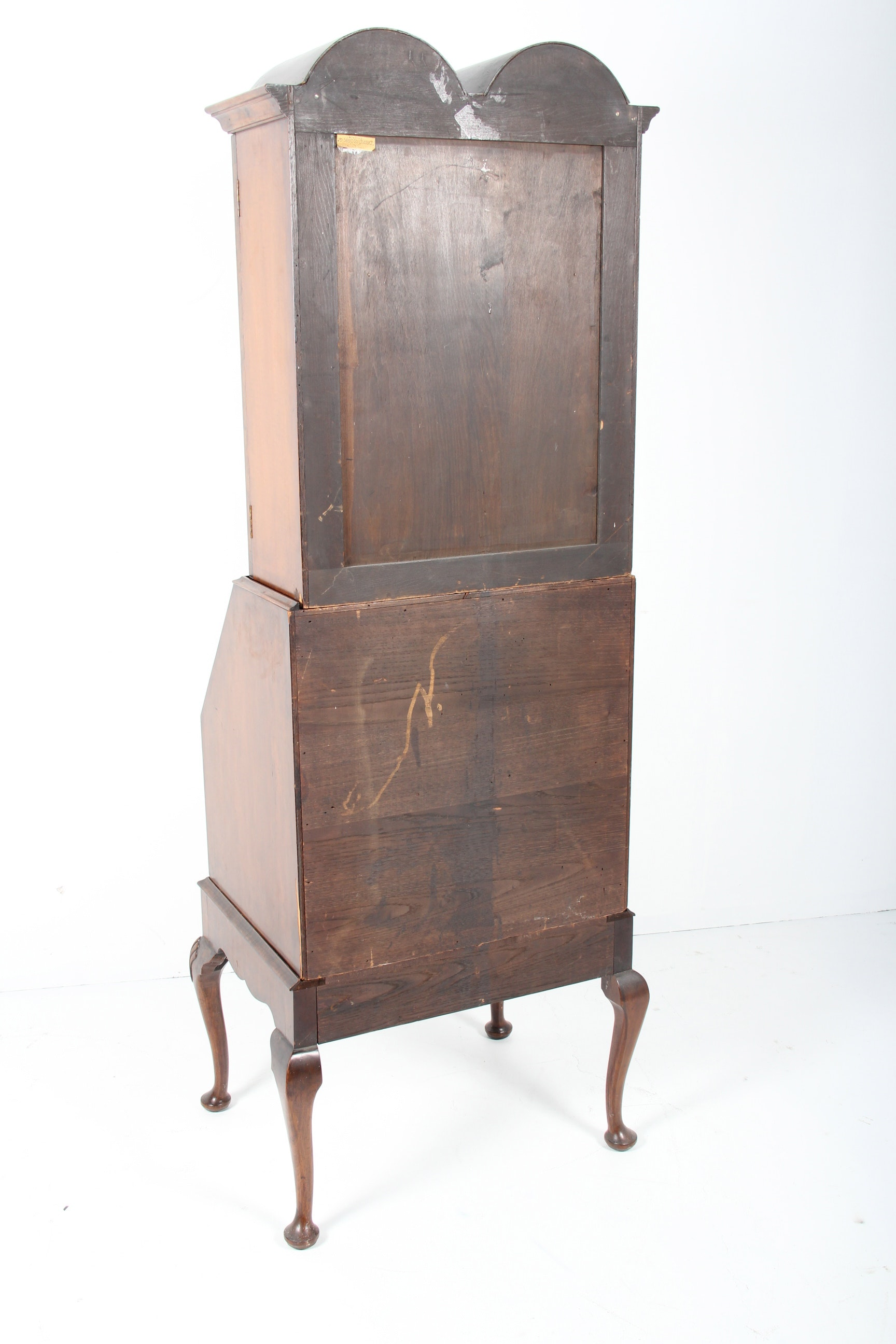 Antique David Zork Company Secretary Bookcase Ebth