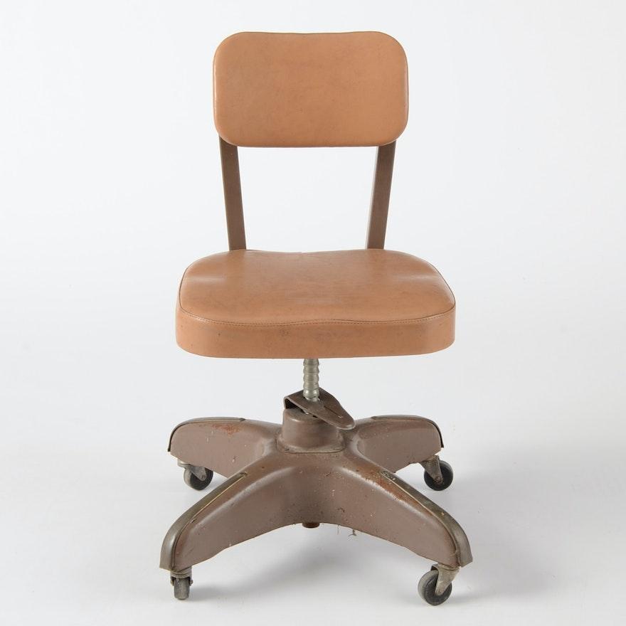 Vintage Cole Steel Desk Chair