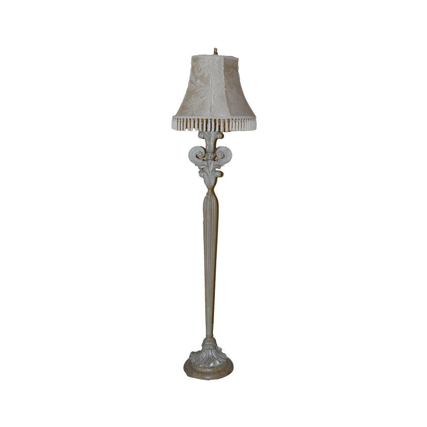 Fleur De Lis Floor Lamp