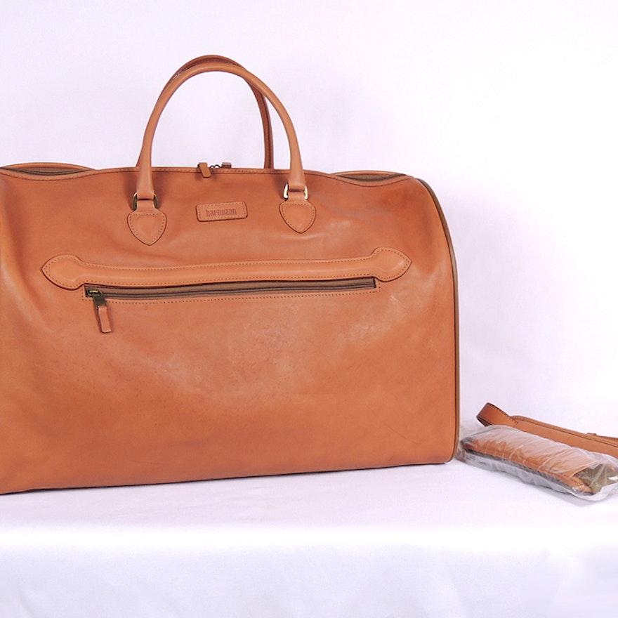 b7c6ca01e082 Hartmann Leather Carry On Bag   EBTH