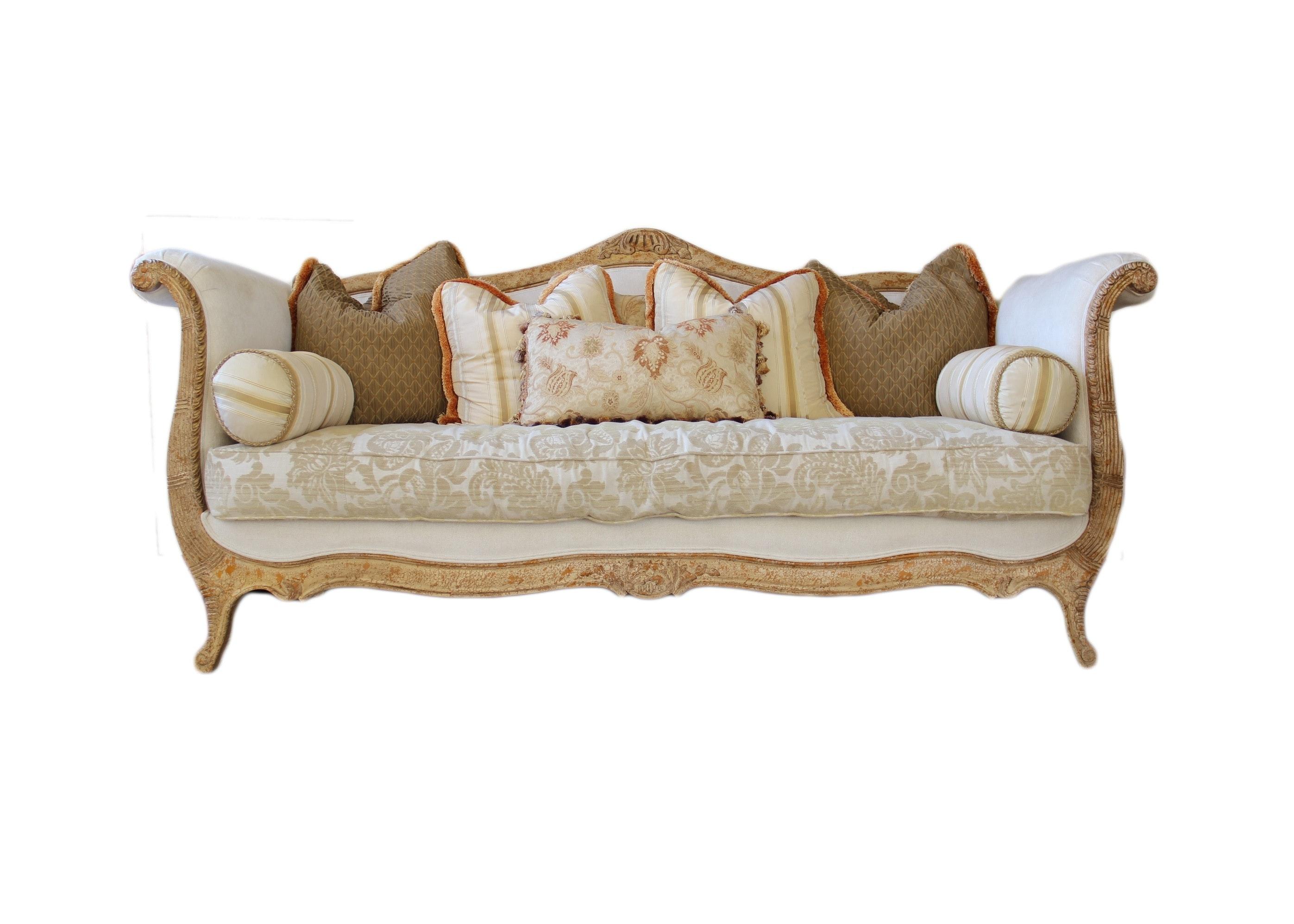 Drexel Heritage Louis Xv Style Sofa Ebth
