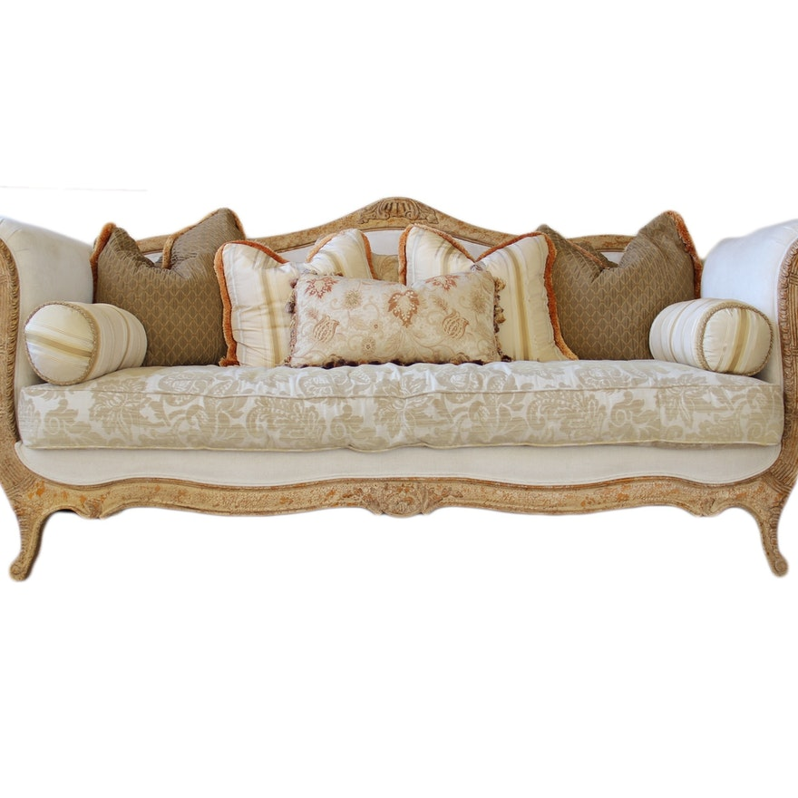 Drexel Heritage Louis Xv Style Sofa