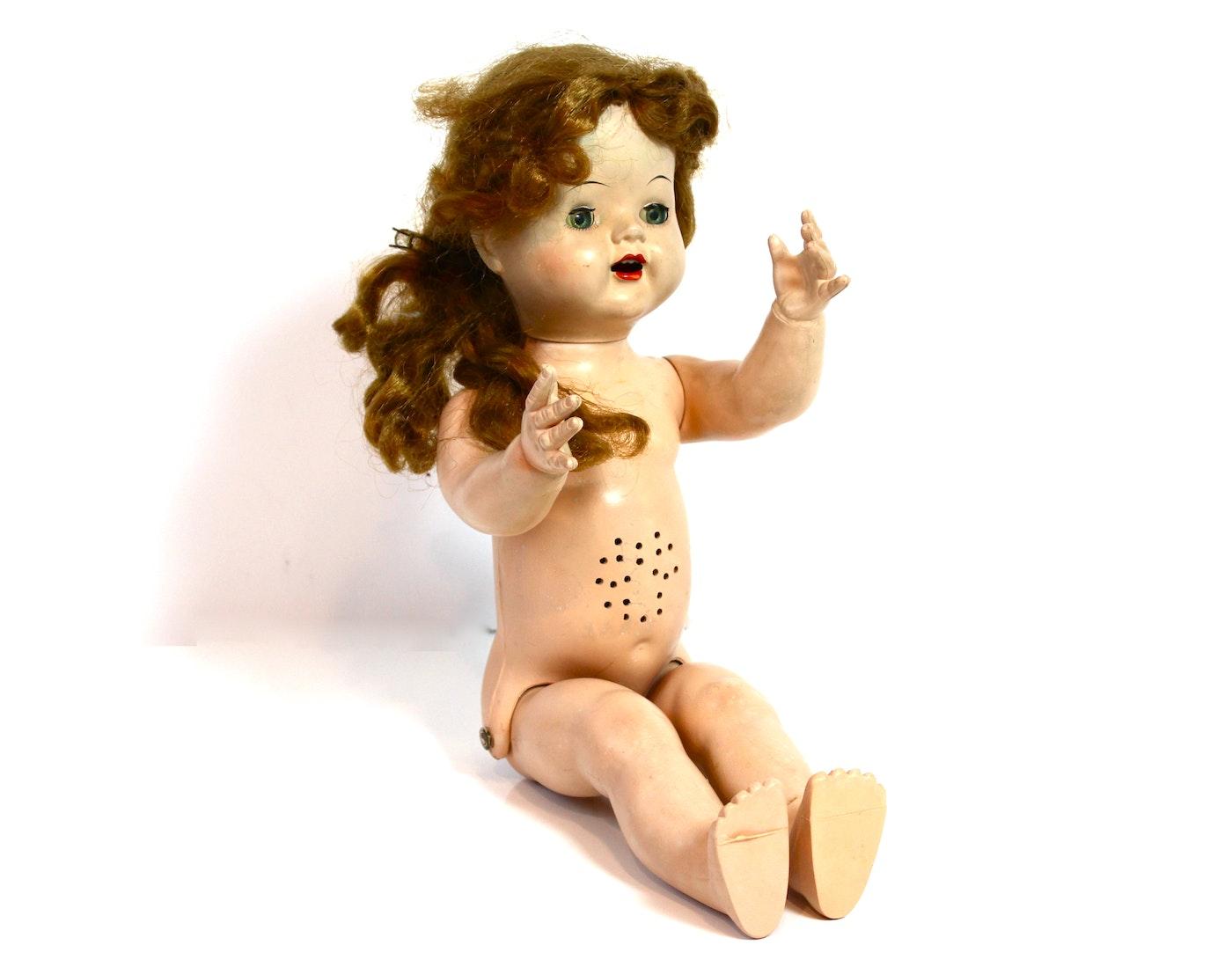 Vintage Walker Doll 70