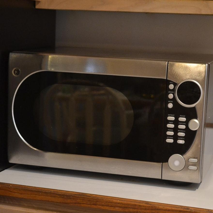 Ge Microwave With Dual Element Browner