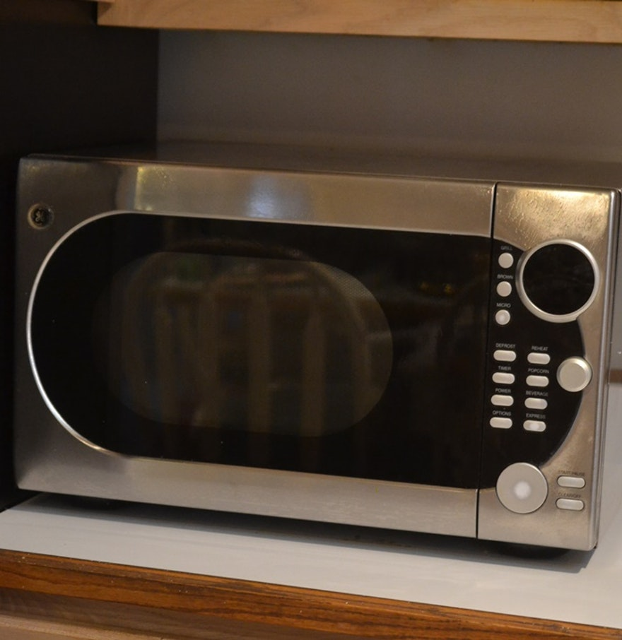 Ge Microwave With Dual Element Browner