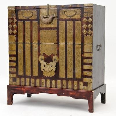 Korean Tansu Chest - Online Furniture Auctions Vintage Furniture Auction Antique