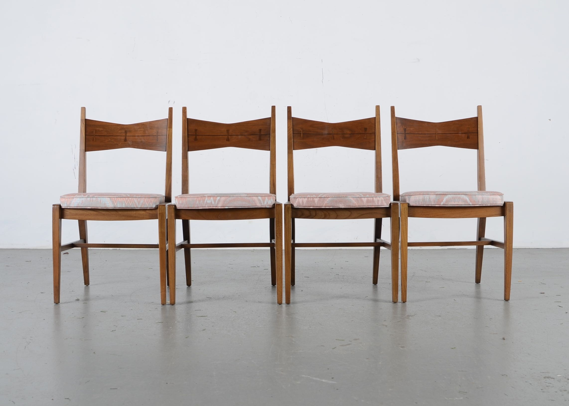 Mid Century Dining Chairs By Lane Furniture ...