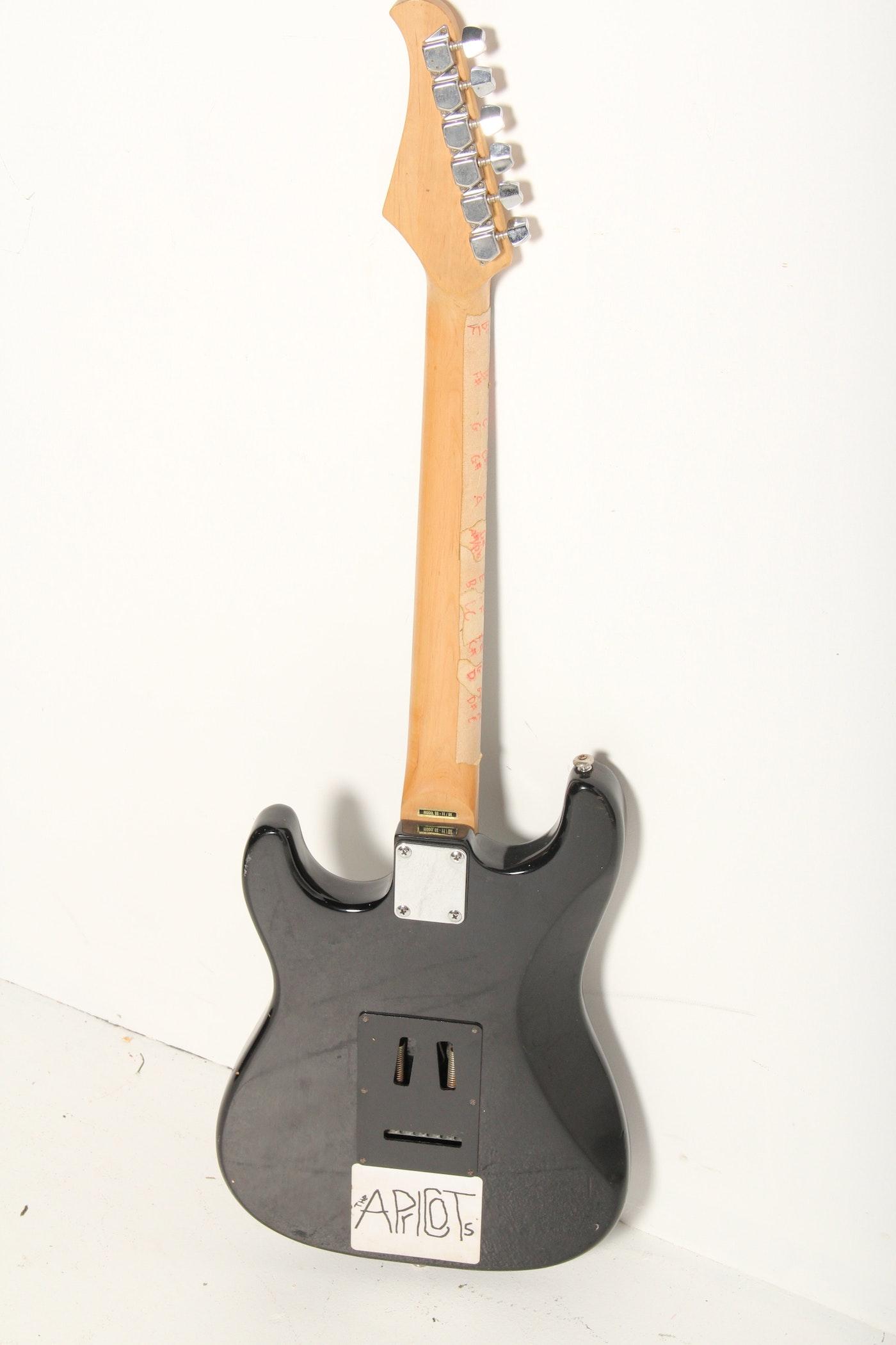 silvertone samick ss 11 electric guitar ebth. Black Bedroom Furniture Sets. Home Design Ideas