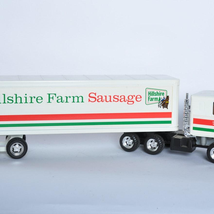 vintage hillshire farm sausage semi truck ebth