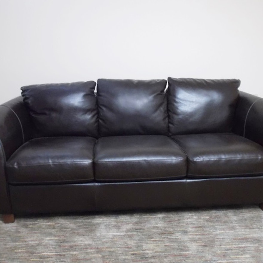 Italian Leather Italsofa Sofa