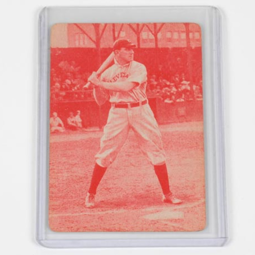 1913 Napoleon Lajoie Parker Brothers Game Baseball Card