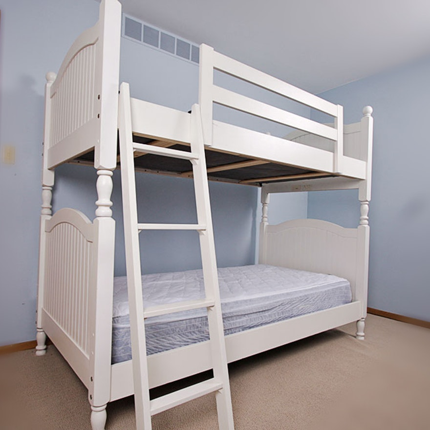 White Stanley Furniture Bunk Bed Ebth