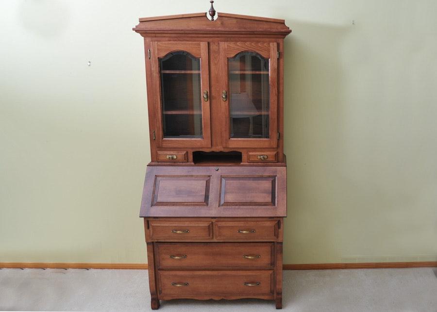 Classic Custom Amish Made Secretary From Miller S