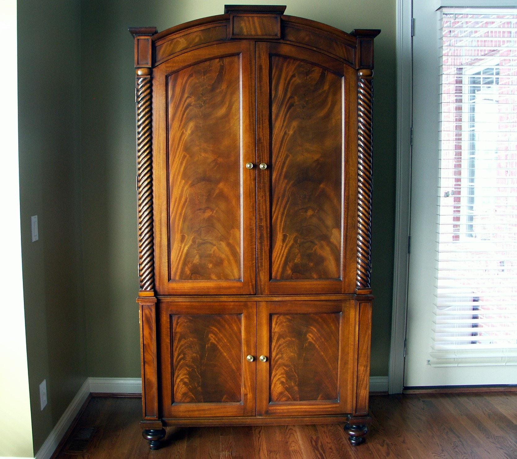 Hickory Chair Mahogany Armoire