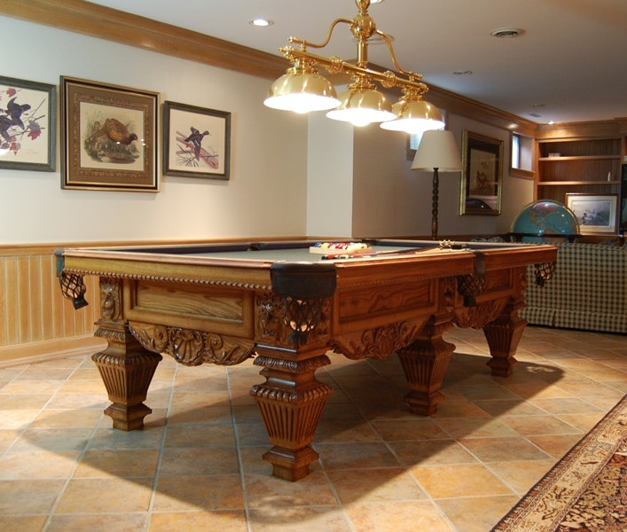 Peter Vitalie Co. Lord Nelson Slate Billiard Table ...