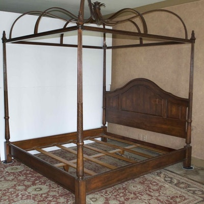 vintage bed auction used beds and bedding for sale in. Black Bedroom Furniture Sets. Home Design Ideas