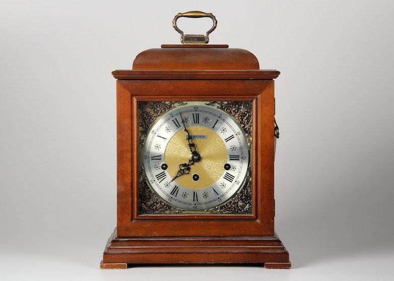 Tempus Fugit Westminster Mantel Clock Ebth