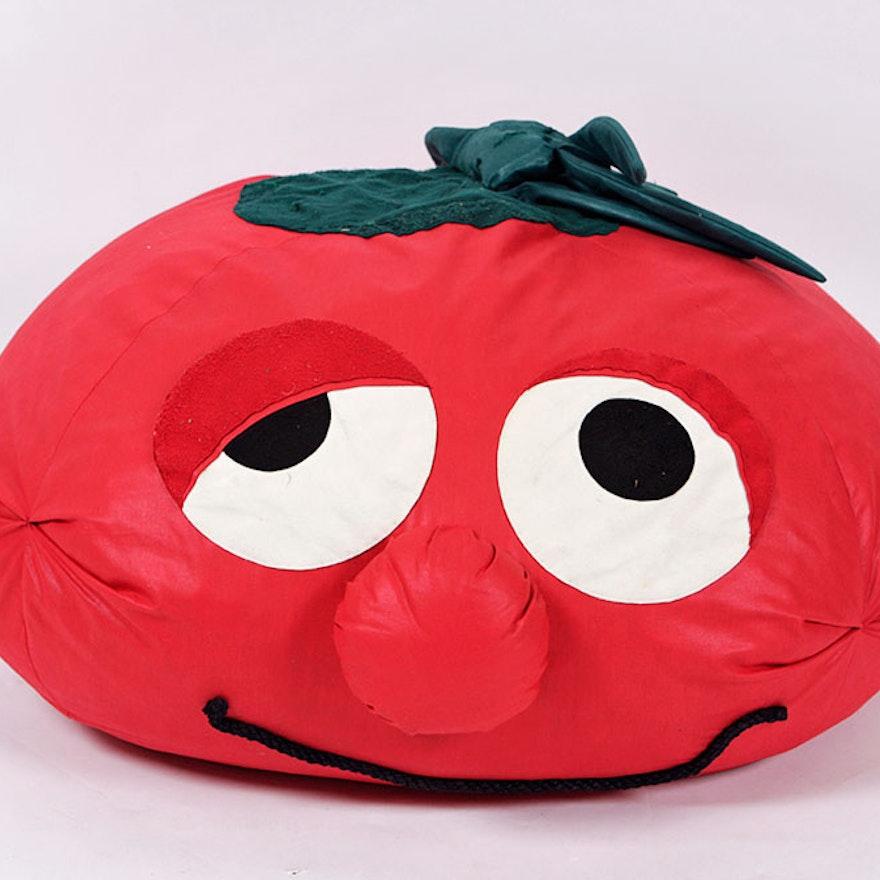 Veggie Tales Tomato Bean Bag Chair