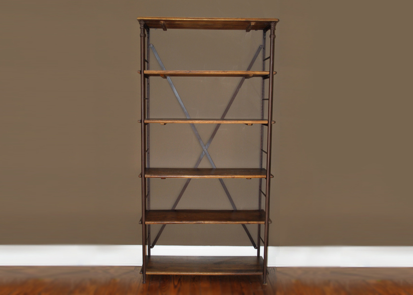 Ballard Designs Toulouse Tall Industrial Bookcase I