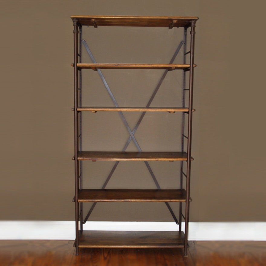 Ballard Designs Toulouse Tall Industrial Bookcase I : EBTH