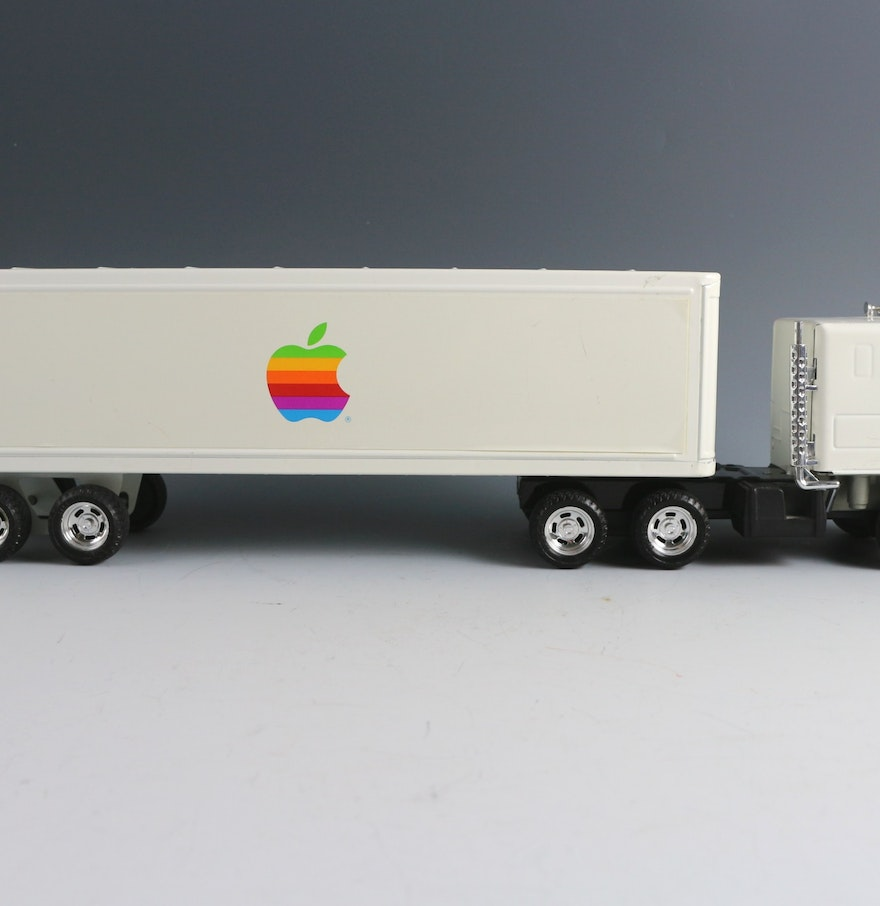 New box truck heartwood manufacturing - Official Apple Computer Toy Semi Truck