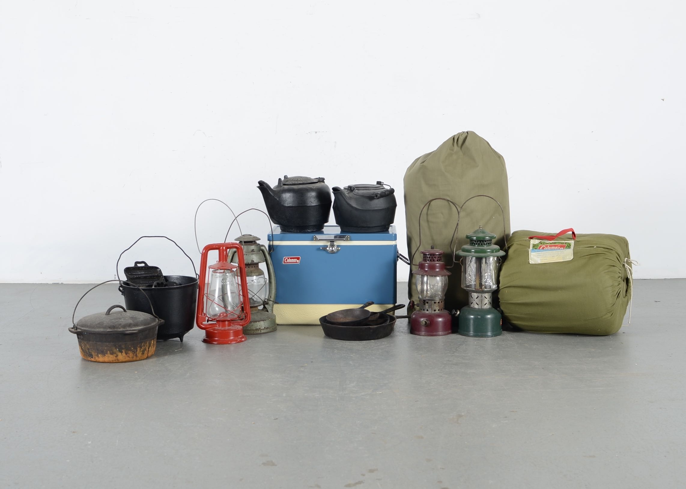 Primitive Camping And Cooking Supplies : EBTH