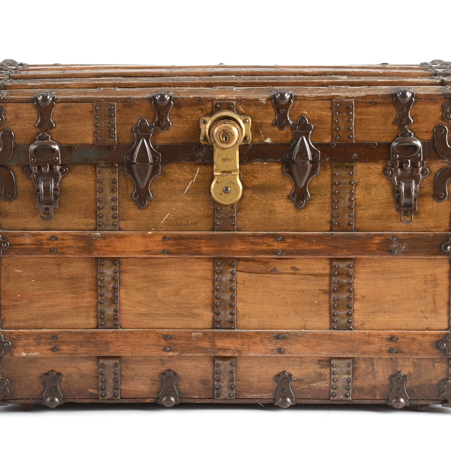 Magnificent Steamer Trunk Coffee Table Pdpeps Interior Chair Design Pdpepsorg