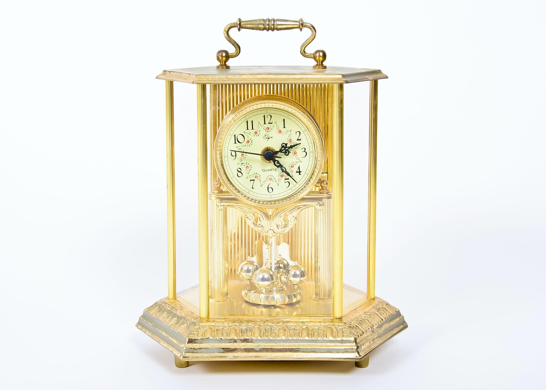 elgin quartz anniversary clock - Anniversary Clock