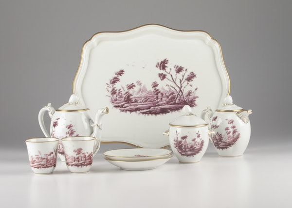 Richard Ginori China Tea Set Ebth