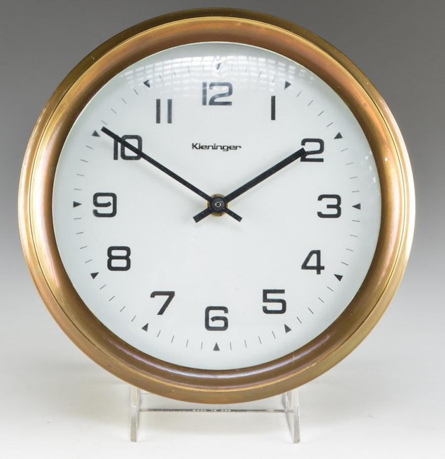 Vintage kieninger wall clock ebth vintage kieninger wall clock amipublicfo Images