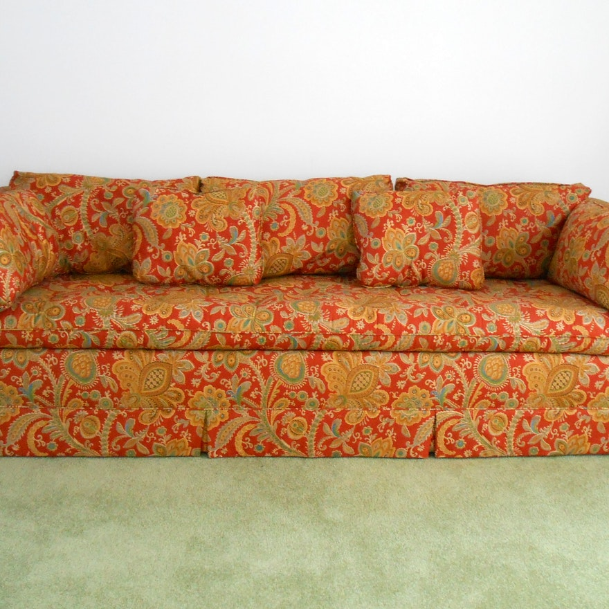 Late 1970s Sofa And Loveseat Ebth